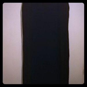 Black dress below the knee